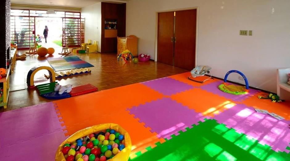 O espaço infantil da Casa de Viver (Foto: Divulgação)