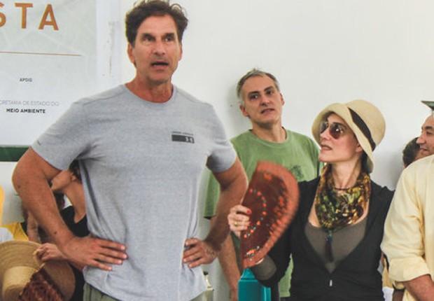 Victor Fasano e Christiane Torloni (Foto: Divulgação)