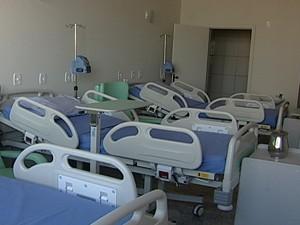 A sala de enfermaria terá capacidade para três pacientes e acompanhantes (Foto: Reprodução/TV Integração)