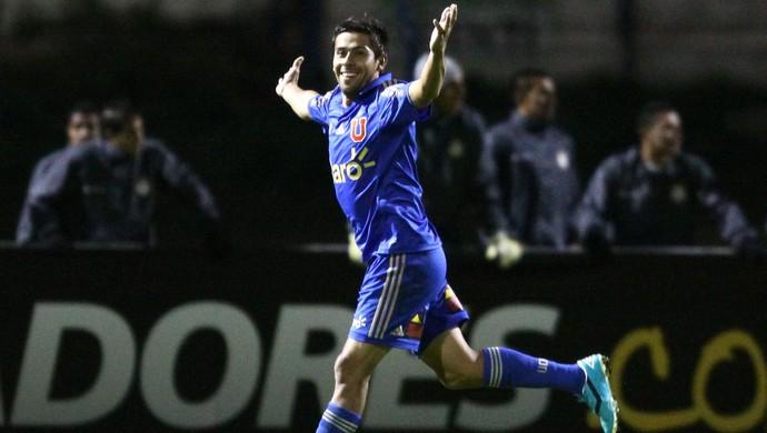 Ramón Fernández, Real Garcilaso 1 x 2 Universidad de Chile, Libertadores (Foto: EFE)