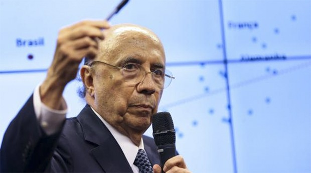 Henrique Meirelles, ministro da fazenda (Foto: Agência Brasil)