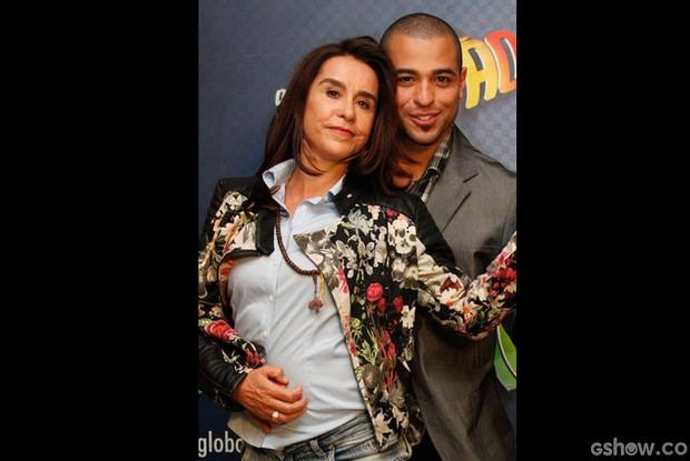 Lucélia Santos e Renato Zóia (Foto: Raphael Dias/ TV Globo)