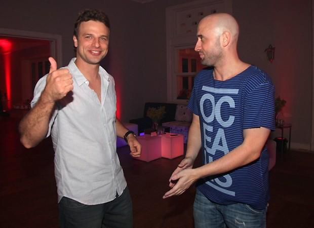Cássio Reis e Paulo (Foto: Claudio Andrade/Revista QUEM)