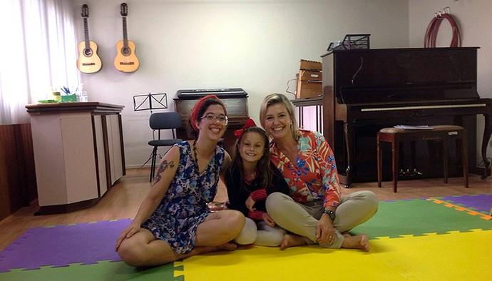 Rafa Gomes The Voice Kids aula de música (Foto: Divulgação/RPC)
