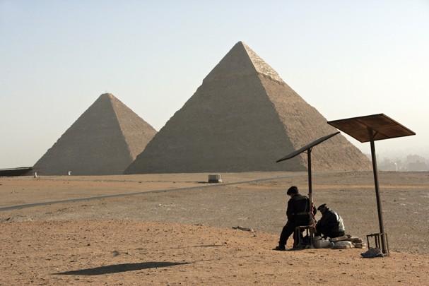 Pirâmide de quase 4 mil anos foi descoberta no Egito (Foto: Getty Images)