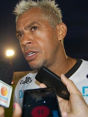 Marcelinho Paraíba, atacante do Treze (Foto: Geovanna Teixeira/GloboEsporte.com/pb)