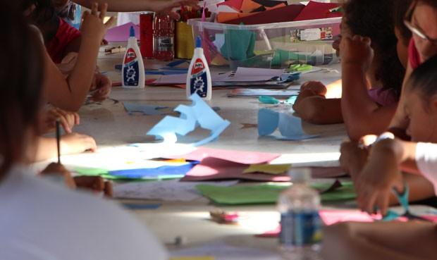 Oficina de brincadeiras, com Carol Daniele (Foto: Divulgação)