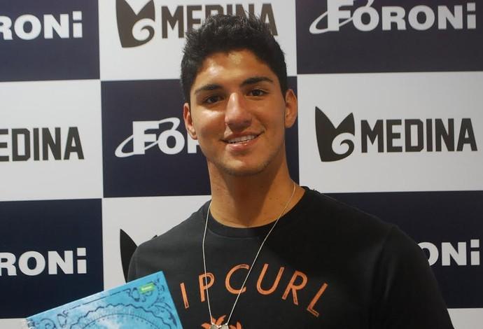 Gabriel Medina lançamento livro (Foto: Marcos Guerra)