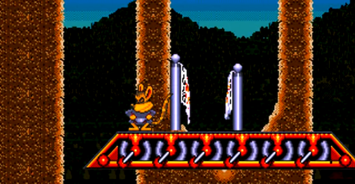 Awesome Possum… Kicks Dr. Machino's Butt é um dos piores do console da Sega (Foto: Reprodução/YouTube)