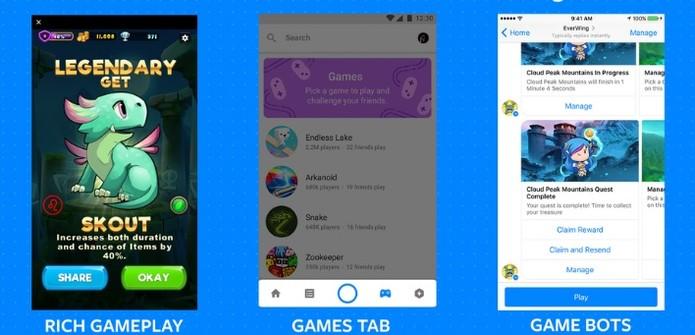 Novas formas de jogar no Facebook (Foto: Divulgação/Facebook)