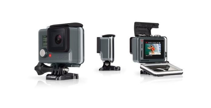 câmera GoPro Hero+LCD (Foto: Divulgação/GoPro)