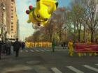 Segurança é reforçada em tradicional parada de Ação de Graças em NY