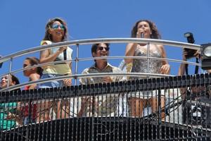 Daniela Mercury e Alinne Rosa no trio (Foto: Dilson Silva/ Agnews)
