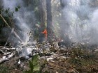 'Era muito fogo', diz testemunha sobre acidente aéreo em Manaus
