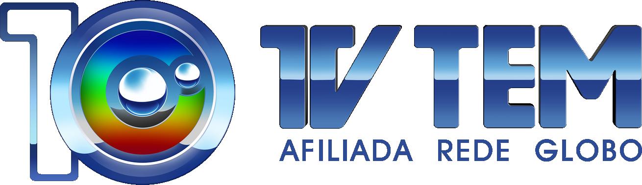 Logo comemorativo TV TEM 10 Anos (Foto: Arte / TV TEM)