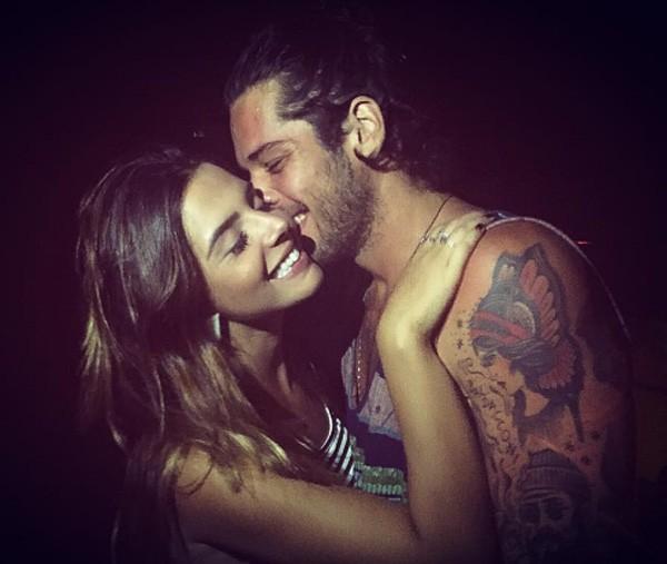 Giovanna com o namorado, Gian Luca Ewbank, irmão de Giovanna Ewbank (Foto: Reprodução/Instagram)