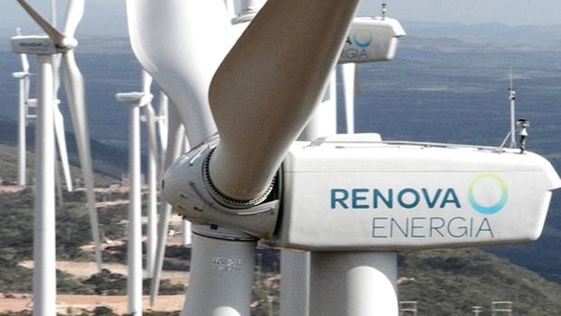Complexo eólico da Renova Energia (Foto: Divulgação)