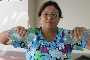 Dona Rosa de Souza, participante de programa de atividade física em Petrolina (Foto: Emerson Rocha)