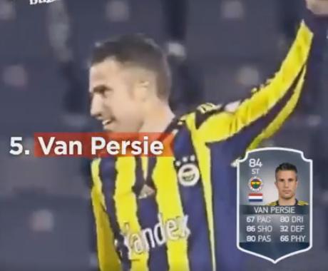 Van Persie no Fifa