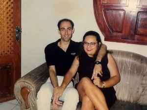 Luís Antônio Nunes Aceto e Eveline Soares Rossi, que morreram em 2001 em Santa Bárbara em acidente envolvendo o cantor Renner (Foto: Acervo da família)