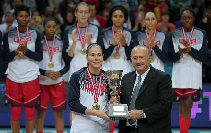 Sue Bird basquete EUA (Foto: EFE)