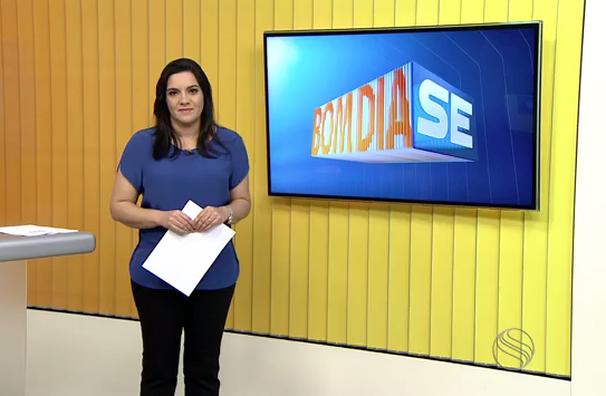 Lanne Pacheco apresenta o Bom Dia Sergipe desta quarta, 15 (Foto: Divulgação / TV Sergipe)