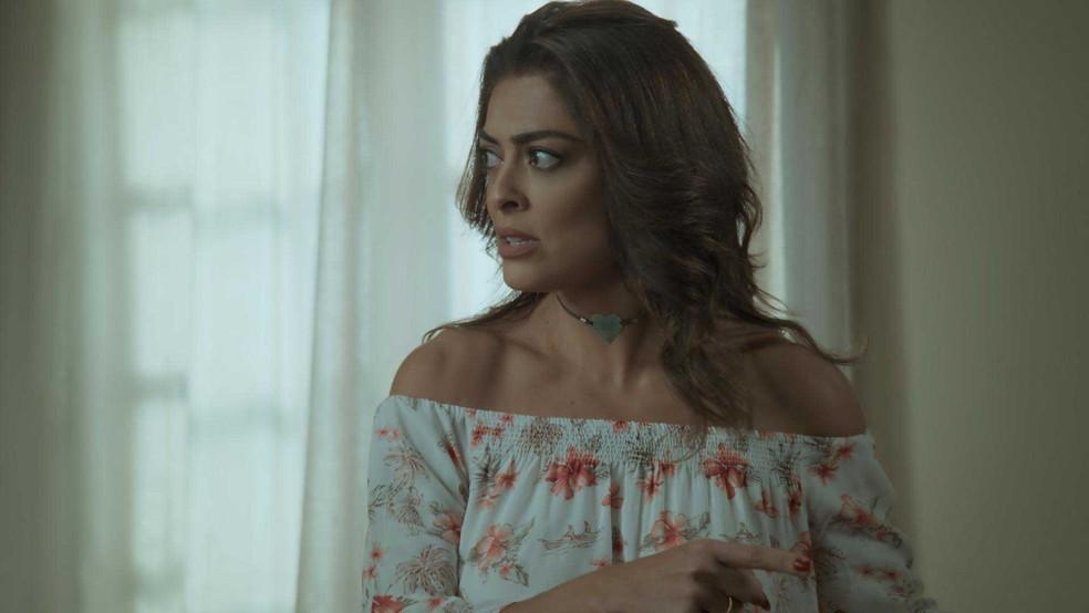 Bibi se revolta ao saber do planos de Joyce para Ritinha (Foto: TV Globo)