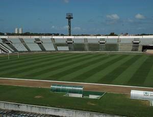 Estádio Almeidão, João Pessoa, Paraíba (Foto: Larissa Keren / Globoesporte.com/pb)