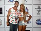 Ana Paula Evangelista e Borat, de 'Amor e Sexo', assumem affair