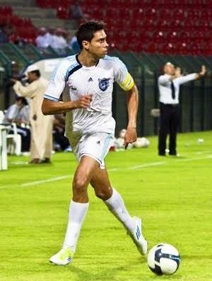 Roberto Nardi meia-atacante Flora Rica (Foto: Mohammed Fadhel / Salalah SC / Divulgação)