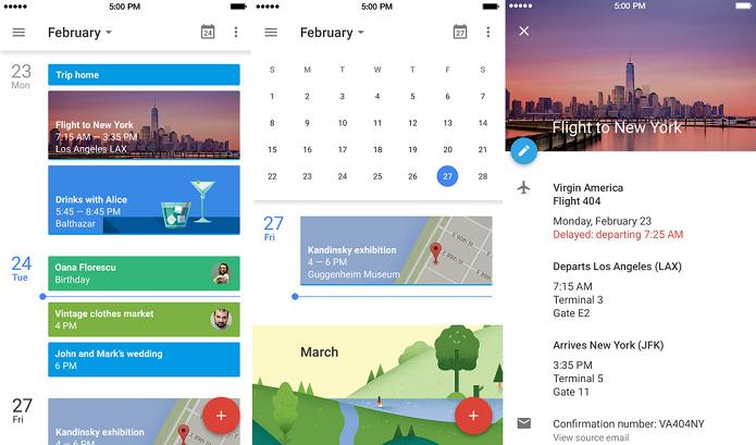 Novo app de calendário do Google chegou ao iOS (Foto: Divulgação)