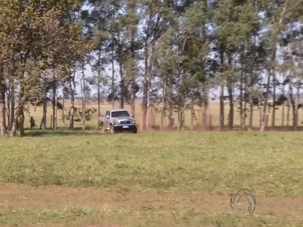 Produtores rurais e índios entram em confronto após ocupação em MS (Foto: Reprodução/TV Morena)