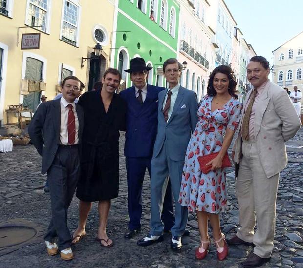 Elenco do filme Dona Flor e seus dois maridos (Foto: Reprodução/Instagram)