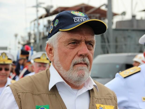 Ministro esteve em Manaus nesta quarta-feira (1º) (Foto: Diego Toledano/G1 AM)