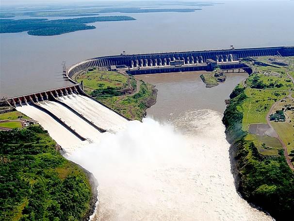 Hidrelétrica de Itaupu (Foto: Divulgação)