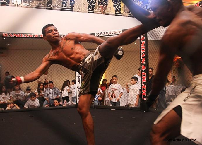 Naldo Silva é roraimense, mas luta pelo Amazonas (Foto: Divulgação)