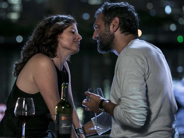 Débora e Domingos serão Lígia e Miguel em Sete Vidas (Foto: Inácio Moraes/Gshow)