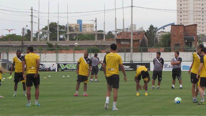 Ceará, treino, Dado, Cavalcanti (Foto: Juscelino Filho)