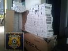 Polícia apreende mais de 3600 maços de cigarros contrabandeados