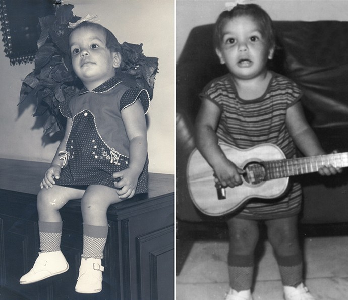 Ivete Sangalo revela que foi uma criança levada e musical (Foto: Arquivo Pessoal)