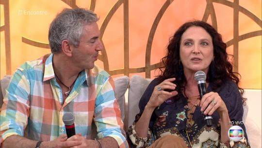Débora Olivieri conheceu o marido em um aplicativo de paquera