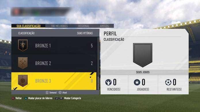 Suba no ranking de Fifa 17 (Foto: Reprodução/Muriilo Molina)