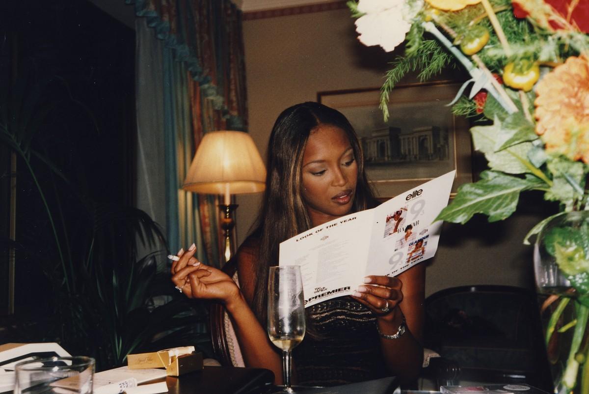Naomi Campbell. (Foto: Divulgação)