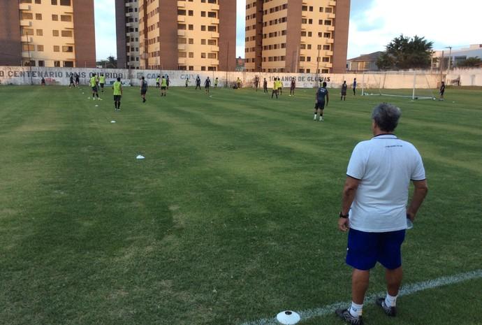 ABC jogadores treino CT Alberi Ferreira de Matos (Foto: Andrei Torres/ABC FC/Divulgação)