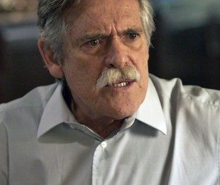 Gibson ameaçará fazer mal à neta (TV Globo)