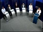 Candidatos debatem propostas na TV Integração em Divinópolis, MG