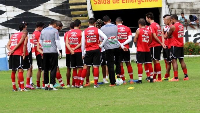 Joinville treino no Arrudão (Foto: José Carlos Fornér/JEC)