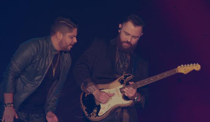 Viaje pela história, sucessos e intimidade dos cantores Jorge e Mateus. (Foto: Divulgação )