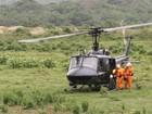 Mulher morre e helicóptero é usado em resgate de sobrevivente na RJ-118