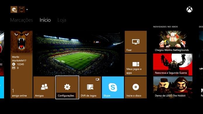 Xbox One: como habilitar o login automático no console (Foto: Reprodução/Murilo Molina)